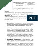 PRC-SST-003 PROCEDIMIENTO PARA MANEJO DE RESIDUOS SOLIDOS