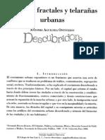 Ciudades fractales y telearañas urbanas