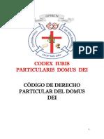 CODEX IURIS PARTICULARIS DOMUS DEI.pdf