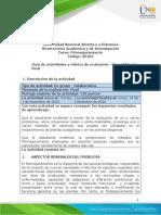 Guia de actividades y Rúbrica de evaluación - Etapa 7 - Prueba final