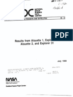 Results From Alouette 1, Explorer 20, Alouette 2, And Explorer 31