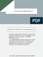 ARTICULO INFORMATIVO sexto.pptx