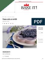 Ricetta Panna cotta stampo Soft by Pavonidea