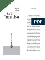 Vargas Llosa- El viaje a la ficción