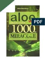 Aloe vera planta celor 1000 de miracole -OLTEA MUTULESCU