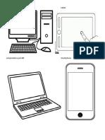 computadora de escritorio tablet