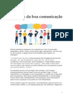 Artigo HSM - Desafios da boa comunicação