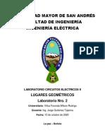 Informe Nro 2 - Lugares Geometricos