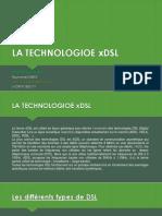 La Technologie xDSL