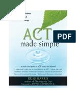 ACT Made Simple Español