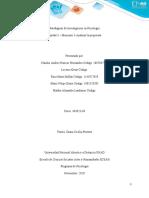 Paradigmas de Investigacion-Unidad 3- Momento 3 - Analizar la propuesta
