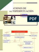 FUNCIONES DE AUTOPERPETUACIÓN