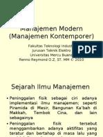 MODUL 12 - TM Manajemen Kontemporer
