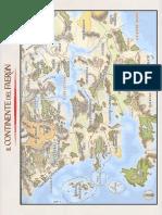 MAPPA del Faerun e Costa della Spada in ITA