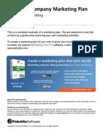 Plumbing company marketing plan