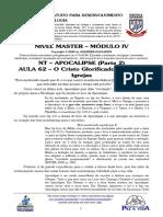 MASTER 2020 - MÓD IV - AULA 62 - NT - Apocalipse - O Cristo Glorificado e as Sete Igrejas.pdf