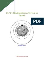 F 11-Unidade 1 Movimentos na Terra e no Espaço (Com SOLUÇÕES), Banco de Questoes com Itens de ...pdf