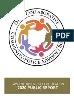 Ohio Collaborative Community-Police Advisory Board Report