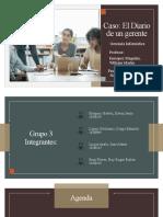 Diario de un gerente - Grupo 3