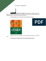 HISTÓRIA DO CEARA - UM RESUMO - Airton de Farias
