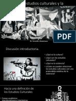 Los estudios culturales y la violencia