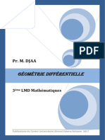 Geometrie Differentielle