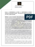 A INTERFERÊNCIA DA MÍDIA E A IMPORTÂNCIA DA PROVA PERICIAL NO PROCESSO JUDICIAL - UMA ANÁLISE JURÍDICA PEDAGOGICA DO CASO TATIANE SPITZNER