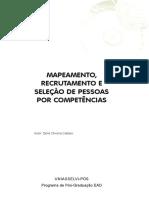 MAPEAMENTO, RECRUTAMENTO E SELEÇÃO DE PESSOAS POR COMPETÊNCIAS