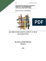 MODULO II DE PEDAGOGÍA GENERAL