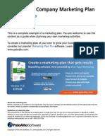 Water filter company marketing plan