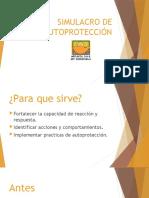 SIMULACRO DE AUTOPROTECCIÓN