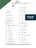 1 Semana - Ecuaciones de Primer y Segundo Grado (2)