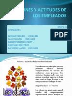 EMOCIONES Y ACTITUDES DE LOS EMPLEADOS, PRESENTACION. GRUPO #5..pptx