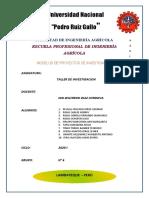 MODELOS DE PROYECTOS DE INVESTIGACION