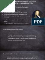 Presentación Benjamin Constant