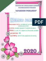 COVID-19 Y OBJETIVOS DE DESARROLLO SOSTENIBLE