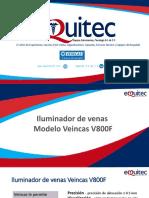 Presentación Veincas V800F - EQUITEC