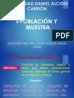CLASE 4 LA POBLACIÓN Y MUESTRA