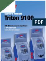 Triton 9100 ATM Manual