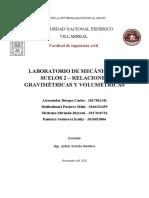 M.Suelos 2 - Relaciones Gravimétricas y Volumétricas