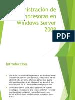 U06 Administración de Impresoras en Windows Server 2008
