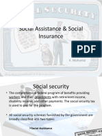 Social Assistance & Social Insurance