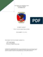 CH-47D POWER TRAIN SYSTEM