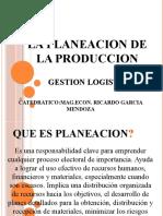 PROGRAMA MAESTRO DE PRODUCCION Y PLANEACION AGREGADA