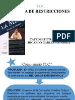 TEORIA DE RESTRICCIONES-2015-GESTION DE OPERACIONES