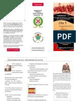 Regimiento Farnesio 12, actos del 362 Aniversario. 5 de marzo de 2011