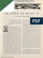 La Corte de Felipe III