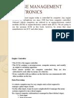 ENGINE MANAGEMENT ELECTRONICS