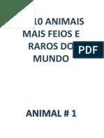 AnimaisRaros