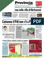 La Provincia Pavese 20 Agosto 2010